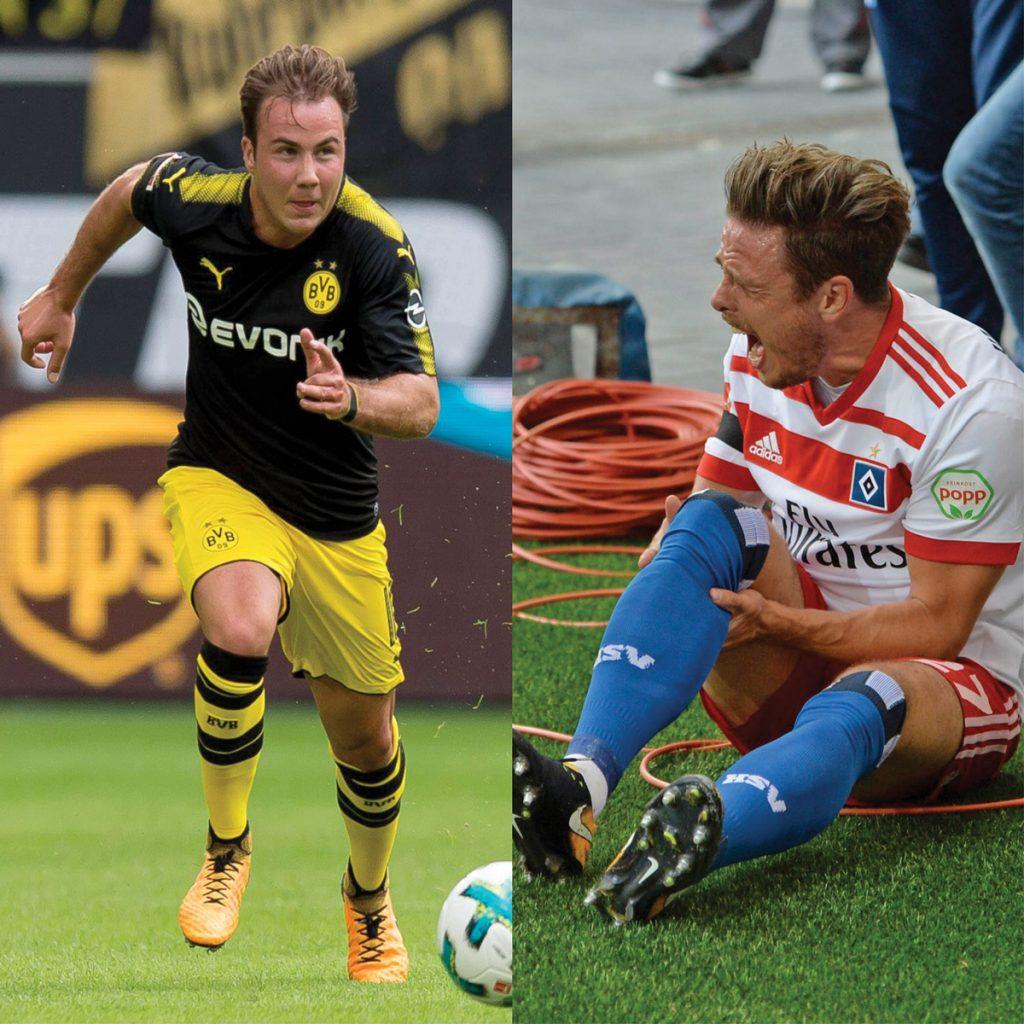 Mario Götze und Nikolai Müller, Gewinner und Verlierer des Spieltages