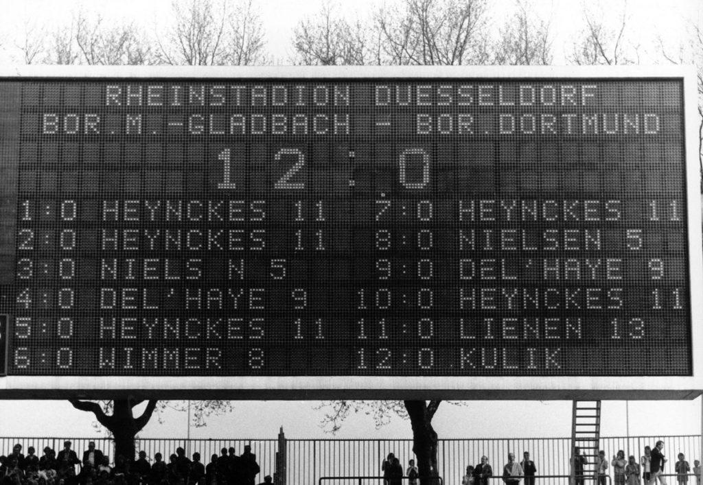 Spielstand Gladbach Dortmund