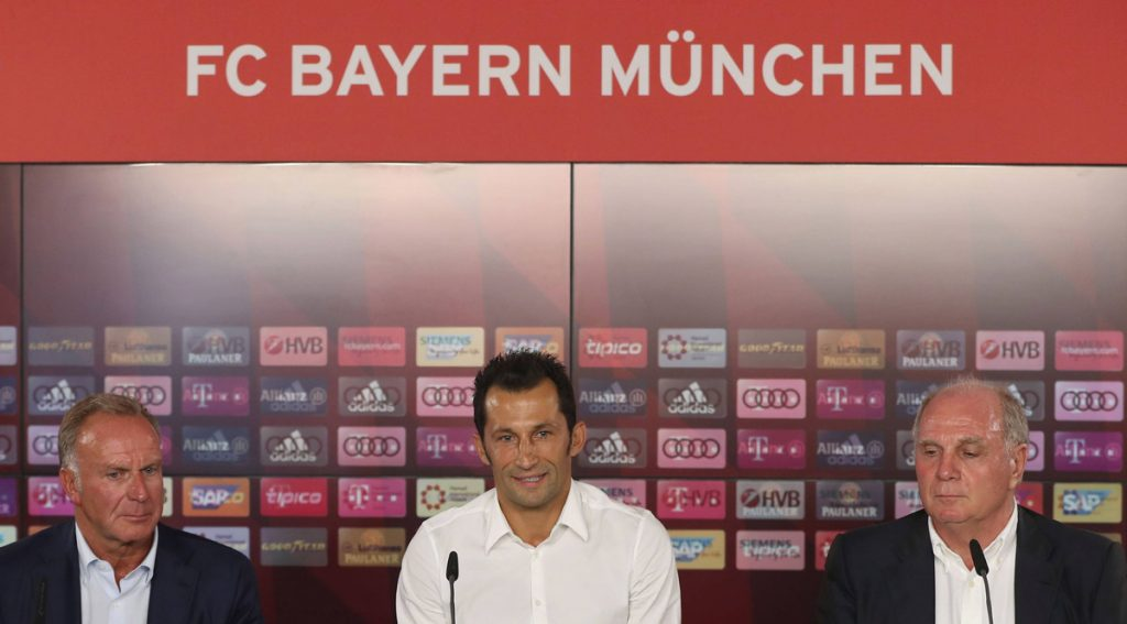 Salihamidzic bei der Pressekonferenz